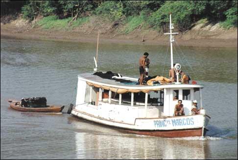 Manausonline Com Turismo Fotos Transporte Fluvial