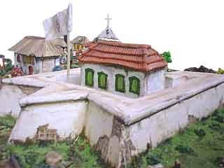 Maquete do Forte São José da Barra