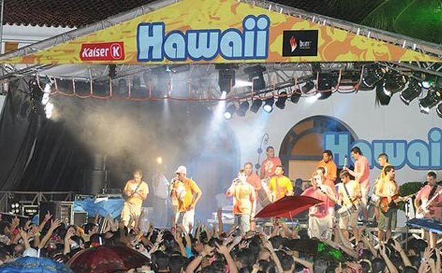 Baile do Hawaii 2016 do Tropical Hotel, dia 23