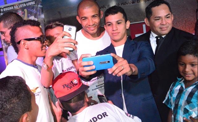 Com José Aldo, melhores da luta livre de 2015 são premiados