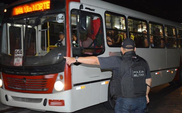 Operações integradas garantem madrugada e noite com redução de crimes
