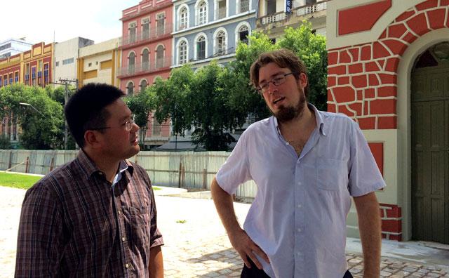 Equipe do Implurb avalia andamento de projetos de revitalização