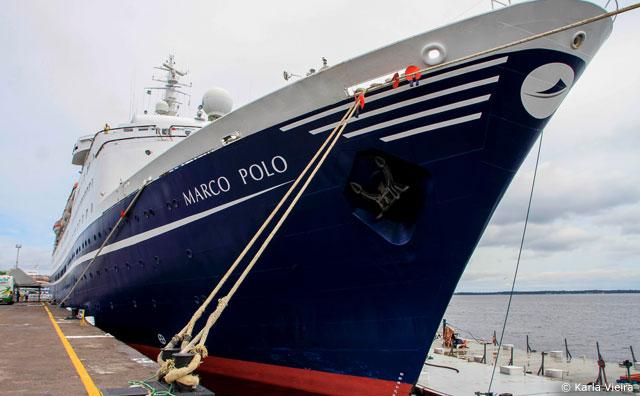 Primeiro navio de 2017 traz mais de mil pessoas a Manaus