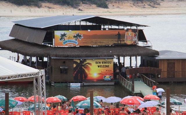 Flutuante Sun Paradise lança programação de Carnaval