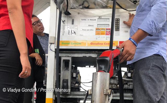 Força-tarefa tem início com notificações nos postos de combustíveis