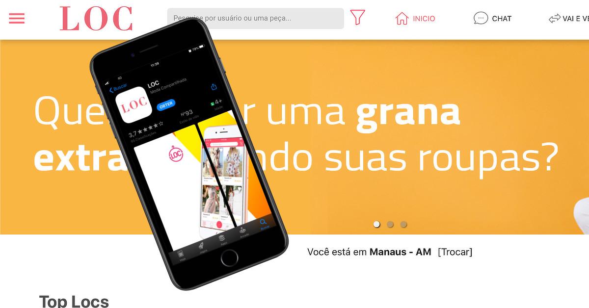 Aplicativo que facilita aluguel e venda de roupas chega a Manaus