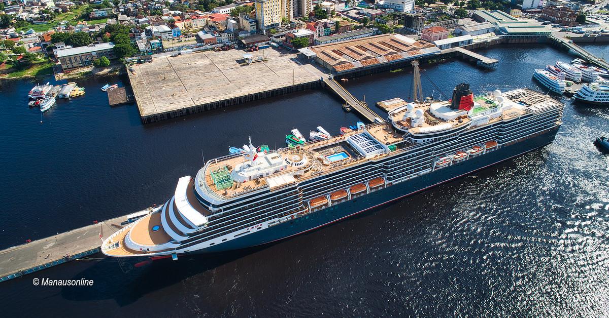 M/S Queen Victoria retorna a Manaus com mais de 2,8 mil turistas