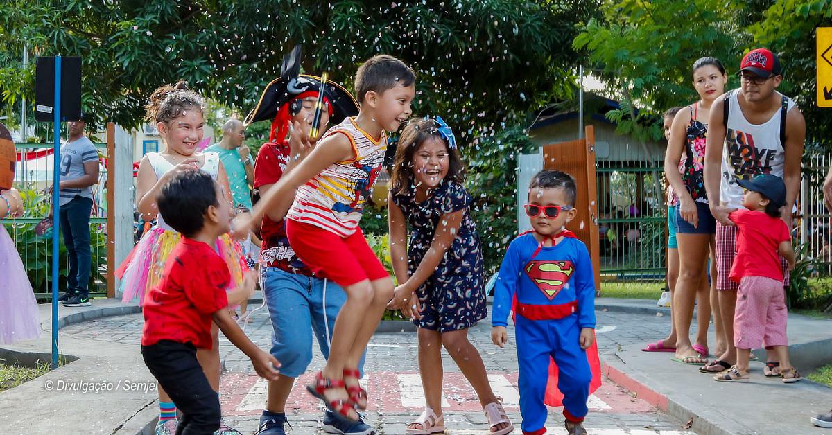 Parque da Criança terá carnaval infantil a partir deste fim de semana
