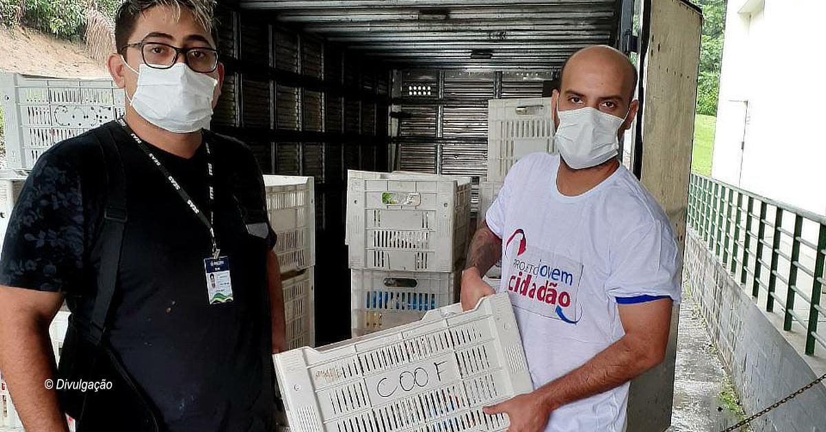 Amazonas Shopping doa 1,4 tonelada de alimentos para famílias em vulnerabilidade social