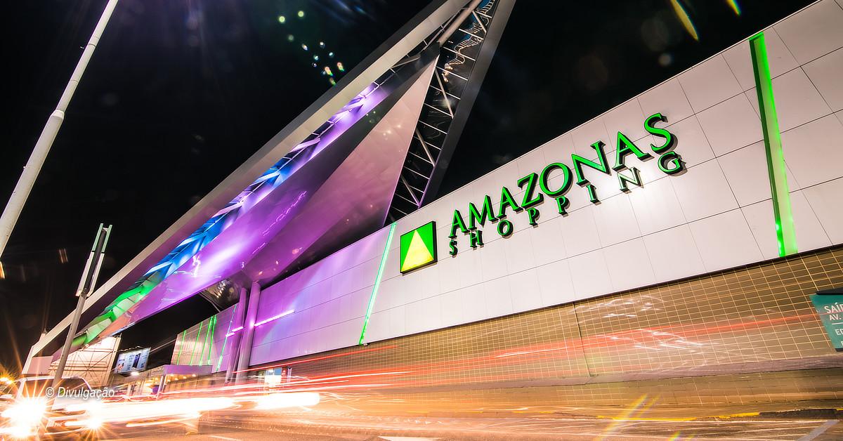 Lojas do Amazonas Shopping reforçam sistema drive-thru e delivery