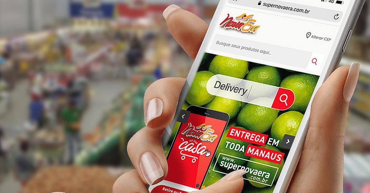 Nova Era e Pátio Gourmet têm canais online para quem preferir comprar sem sair de casa