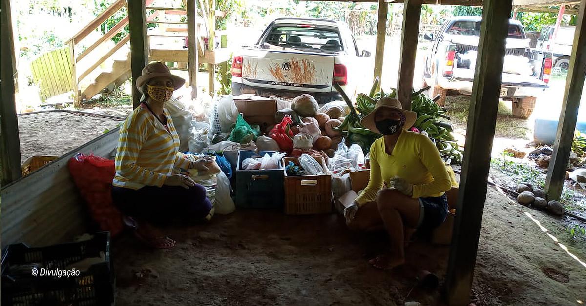 Em Iranduba, moradores arrecadam alimentos e material de limpeza para Hospital