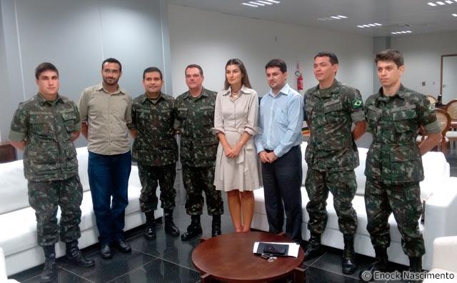 SUFRAMA discute com Exército participação no Amazônia Conectada