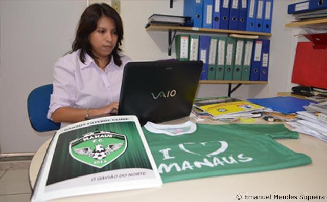 Pensando grande, Manaus FC investe em tecnologia.