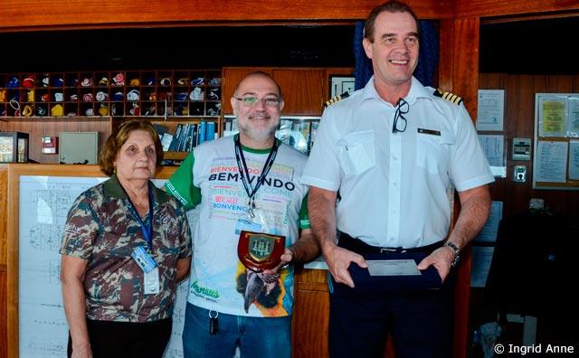 Navio Braemar chega a Manaus com mais de mil turistas