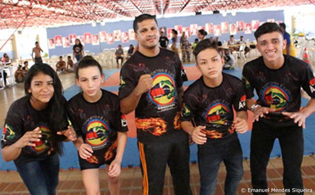 Amazonas Club da Luta emplaca quatro promessas do wrestling