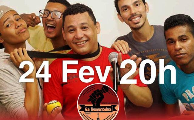 """Pizzaria Pontual recebe stand up comedy """"Os Humorados"""" nesta sexta"""