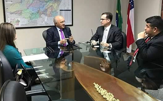 Vereadores articulam com Governador sobre subsídio para o transporte