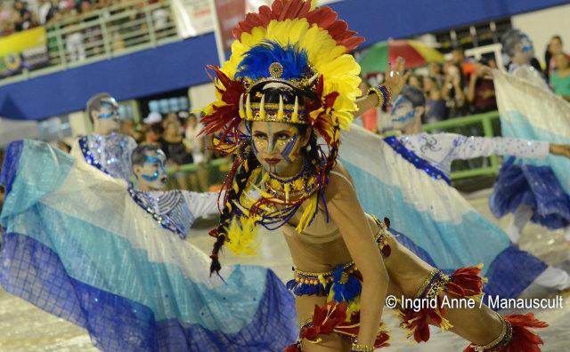 Segunda noite do Desfile Oficial das Escolas de Samba