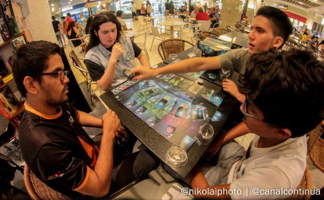 Jogos de mesa é a atração das férias no Millennium Shopping