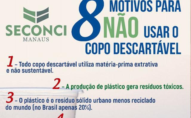 Seconci Manaus realiza campanha anual de consciência ambiental