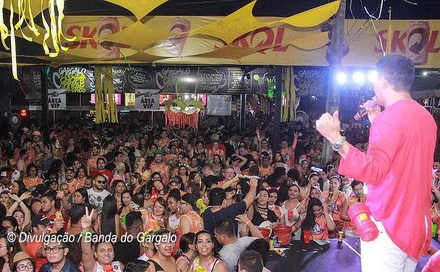 Banda do Gargalo 2019 acontece no domingo (03) de carnaval