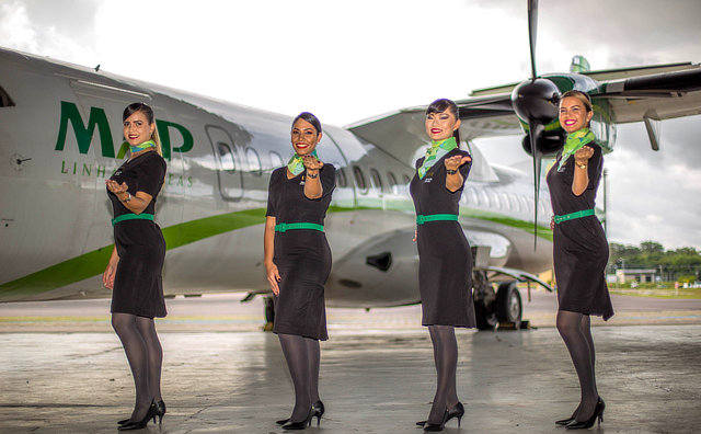 MAP Linhas Aéreas está selecionando copilotos e comissários para contratação