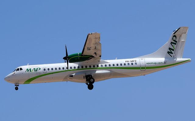 MAP Linhas Aéreas lança promoção relâmpago, para marcar a chegada da nova aeronave
