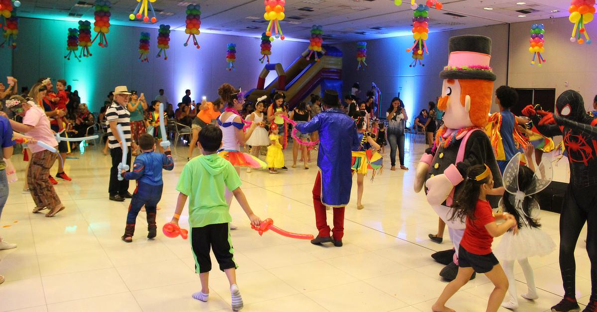 Manaus Plaza Shopping realiza 2ª edição do Baile Infantil de Carnaval