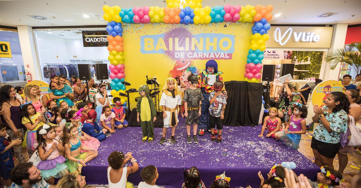 Bailinho Kids do Amazonas Shopping terá desfile de fantasias