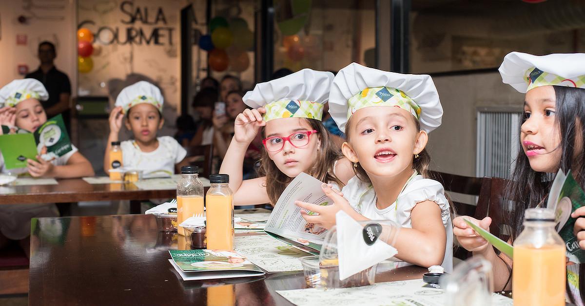 Pátio Gourmet promove edição especial de Carnaval do Chef Kids