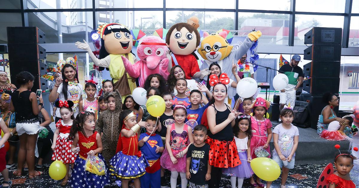 Studio 5 animará o carnaval da criançada
