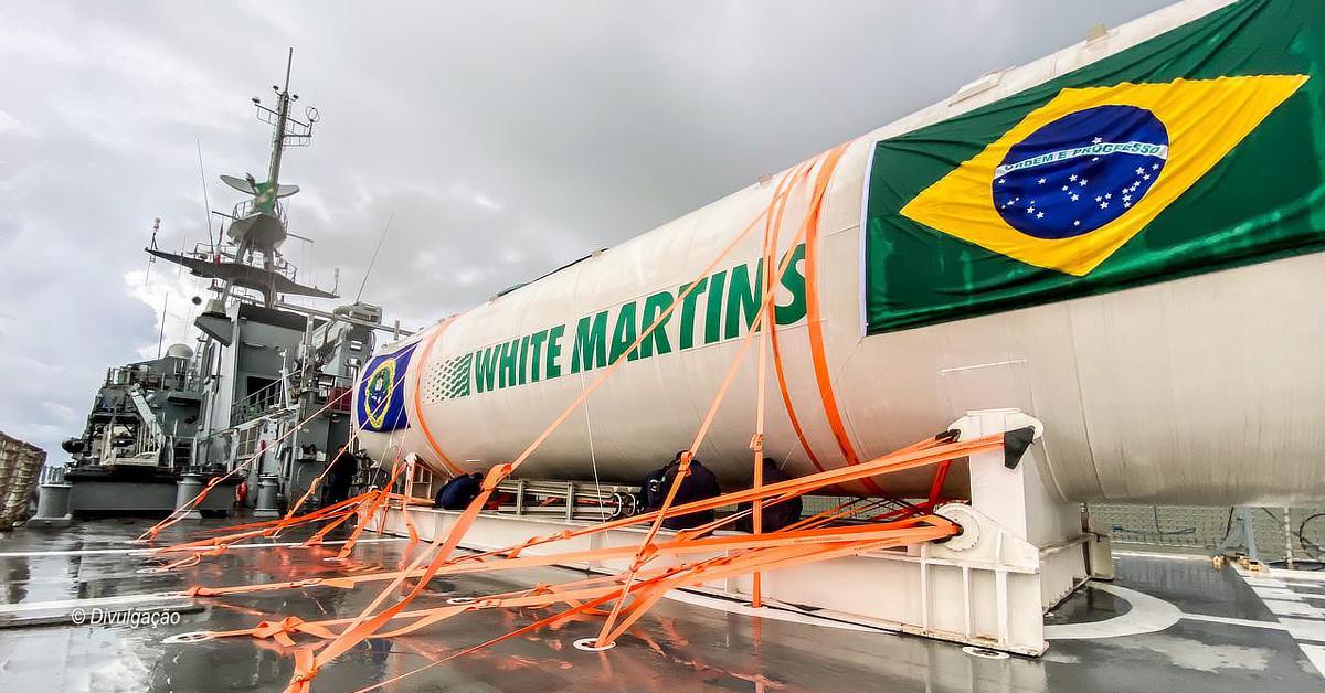 White Martins realiza operações logísticas inéditas para levar oxigênio até estado do AM