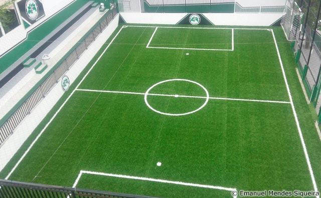 Estrela do Norte inaugura campo de futebol society