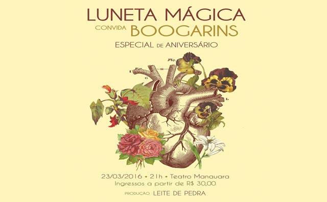 Luneta Mágica traz banda Boogarins para Manaus