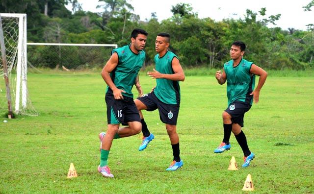Garotada do Manaus FC faz primeiro amistoso