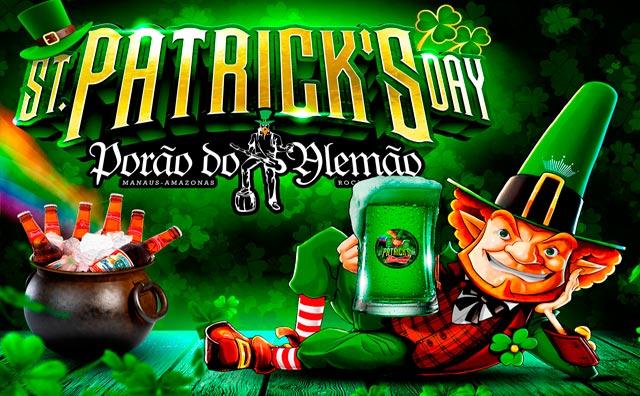 St. Patrick's Day com promoções e mais no Porão