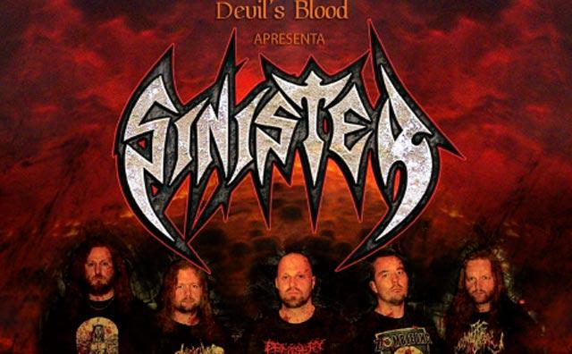 Rock com Sinister, Infection e Incessant Damnation, dia 24