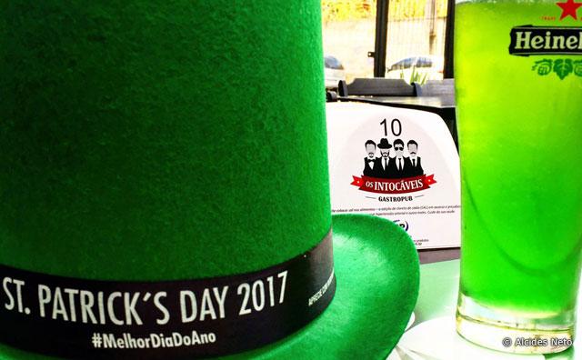St. Patrick`s Day 2017 no gastropub Os Intocáveis.
