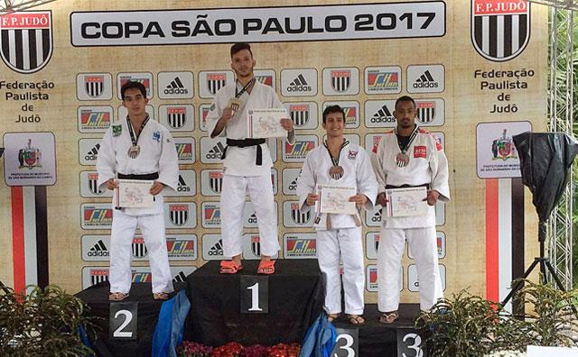 Amazonense Rafael Barbosa é bronze na Copa São Paulo de Judô 2017