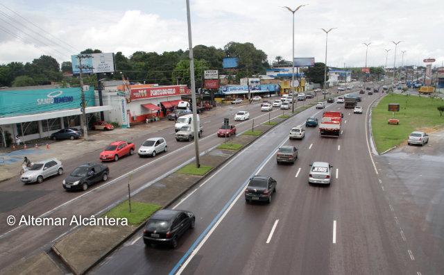 Faixa Azul da avenida Torquato Tapajós está liberada