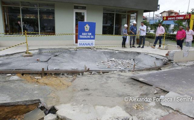 Djalma Batista será interditada para obras de recuperação de drenagem