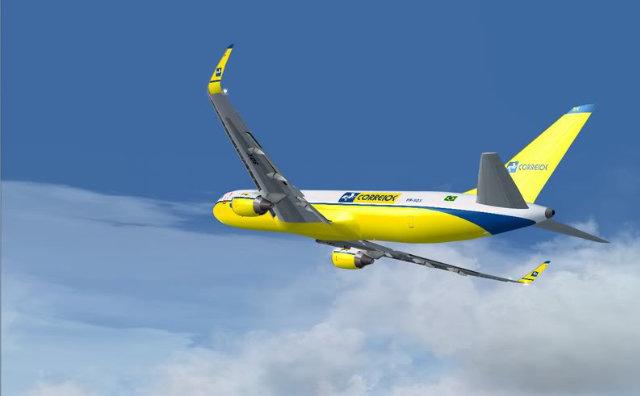 Correios retomam transporte aéreo em 7 municípios do interior