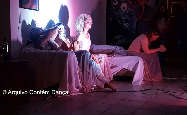 Contém Dança realiza ImprovisaTEM no Café Teatro
