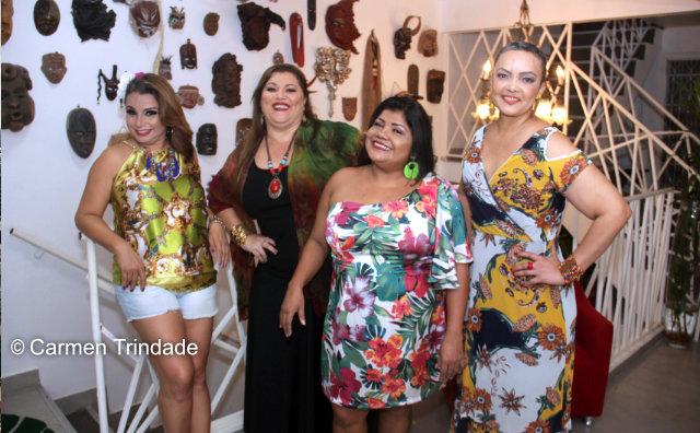 """Mulheres caem no sambam no palco do Teatro Amazonas no """"Roda com Elas"""""""