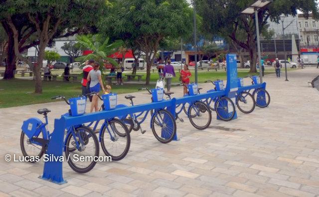 Manôbike ganha mais quatro novas estações na cidade