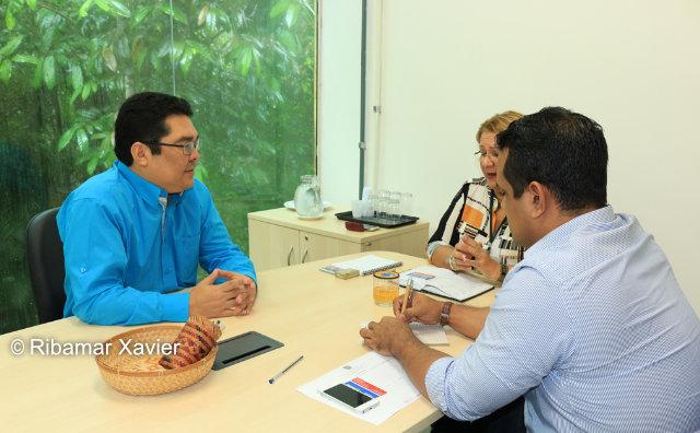 Cetam e Inpa iniciam diálogo visando fortalecimento de empreendimentos