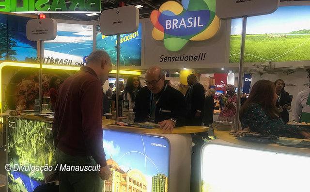 Destino Manaus é apresentado em feira de turismo na Alemanha