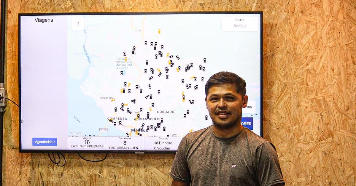 Amazonense cria app de mobilidade que irá concorrer com Uber e 99