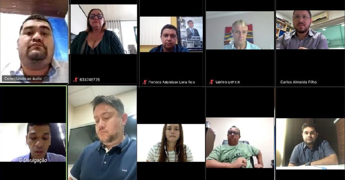 Prefeitos do interior fazem reunião online de emergência sobre coronavírus